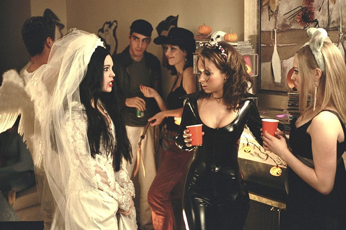 lindsay lohan 3 lacey chabert 2 amanda seyfried - Halloween Quote Mean Girls